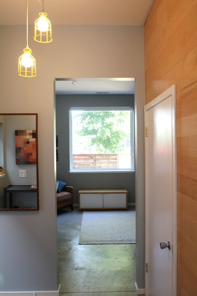 Foyer Photo 7 of Logan Square Home modern home