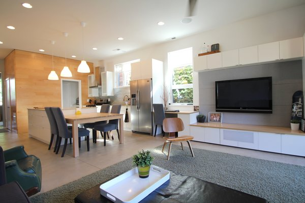 Great Room Photo 9 of Logan Square Home modern home