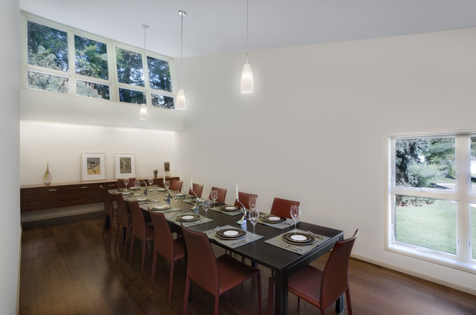 Dining Room  Hayes Residence by Robert Scarpa