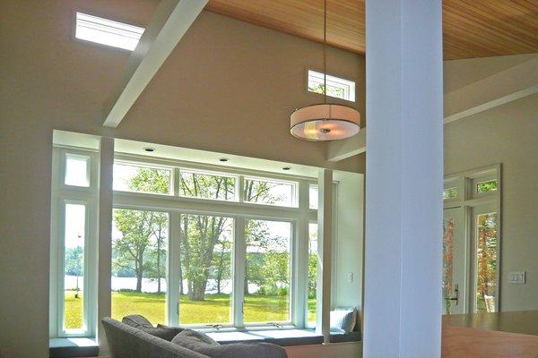 Living room Photo 6 of Jureller Lake House modern home