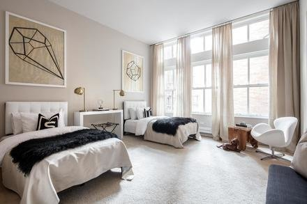 Guest Bedroom Photo 3 of Greenwich Village Townhouse modern home
