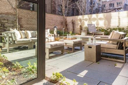 Patio Outfitted by Interior Marketing Group Photo 5 of Greenwich Village Townhouse modern home