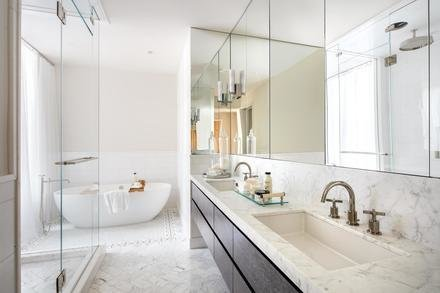 Master Bathroom Photo 6 of Greenwich Village Townhouse modern home