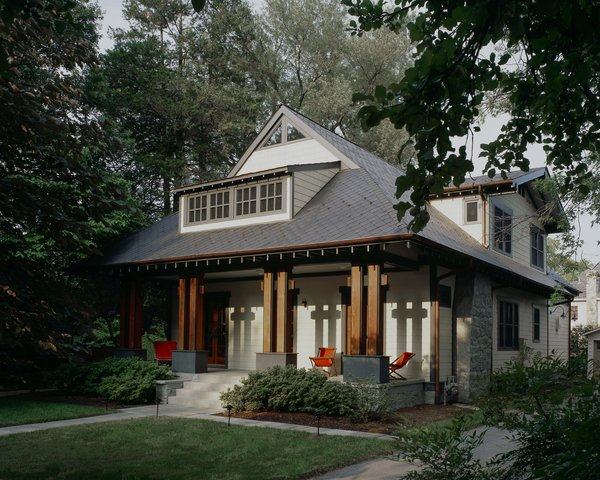 Photo  of Craftsman Teahouse modern home