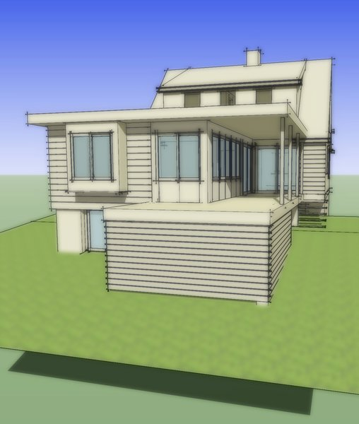 Photo 4 of Cove Overlook modern home