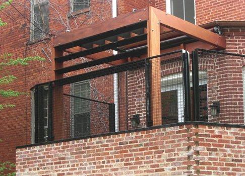 Photo  of Urban Rowhouse Terrace modern home