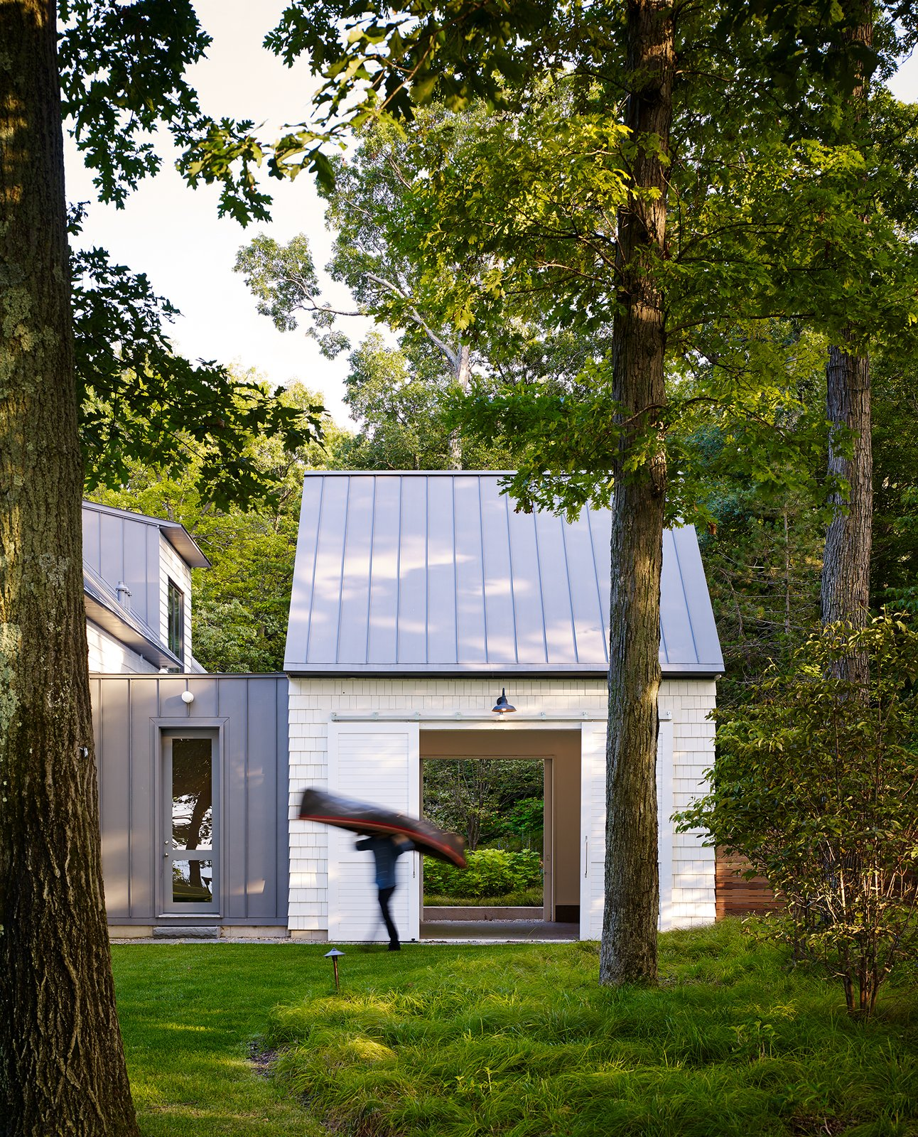 Shed  New Buffalo Residence by Booth Hansen