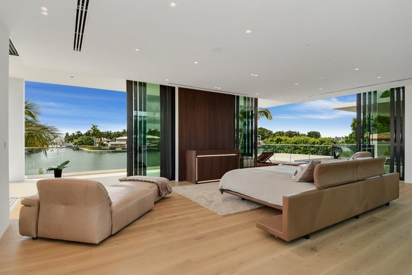 Master Suite Photo 6 of Allison Road Residence modern home