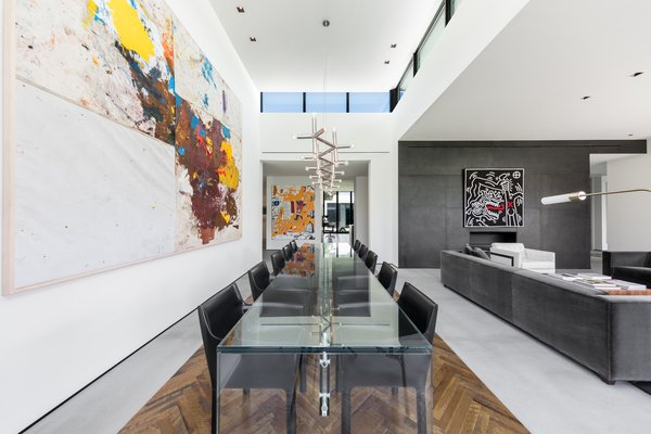 The formal dining room receives an abundance of natural light. Photo 6 of Ponce Davis Residence modern home