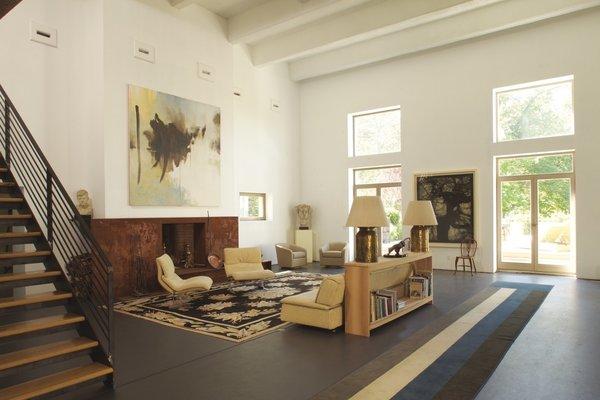 Living Room Photo 12 of Dicks Castle, Garrison, NY modern home