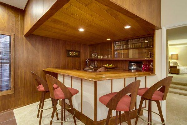 "1950""s Wet Bar Photo 4 of A Fabulous Mid-Century Modern Home modern home"