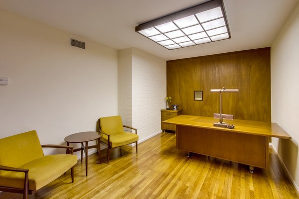 A True Mad Men Office Photo 5 of A Fabulous Mid-Century Modern Home modern home