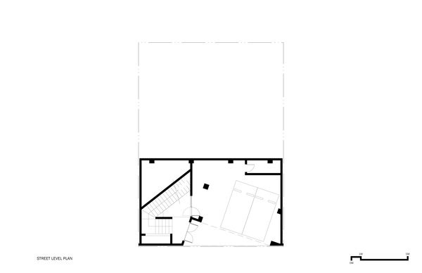 Street Level Plan Photo 13 of A House modern home