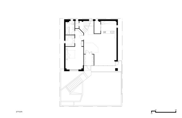 1F Plan Photo 14 of A House modern home