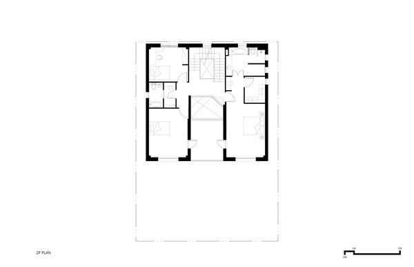 2F Plan Photo 15 of A House modern home