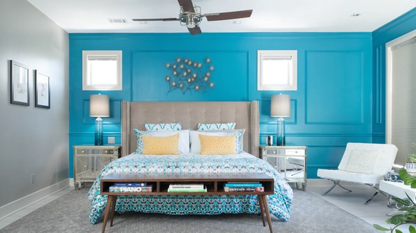 Master bedroom suite. Photo 4 of Artistically Modern modern home