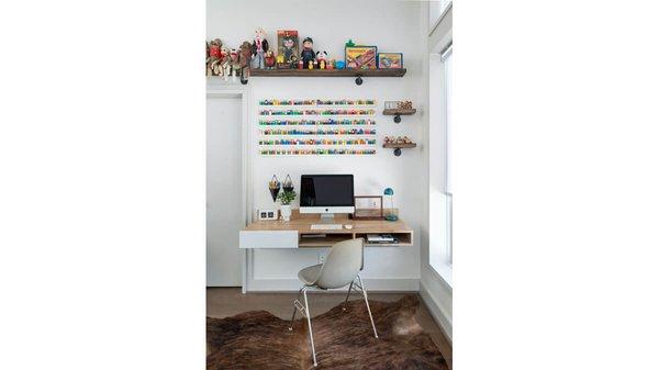 Home office. Photo 9 of Artistically Modern modern home
