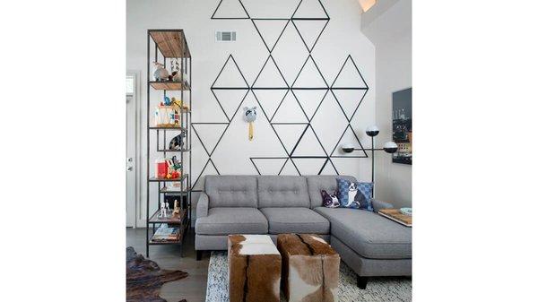 Home office. Photo 10 of Artistically Modern modern home