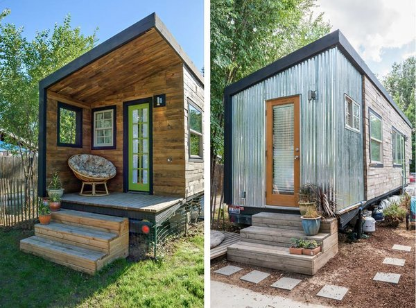 Before & After Remodel Photo  of Tiny House, Two Babies & A Great Dane! modern home