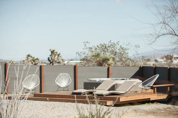 Modern home with outdoor. Photo 2 of A Serenity Escape in Joshua Tree
