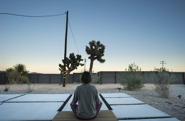 Modern home with outdoor. Photo 6 of A Serenity Escape in Joshua Tree