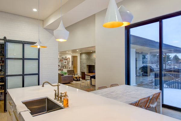 Open Kitchen Views  Photo-Aaron Shaw Photo 2 of 529 Avenues Residence modern home