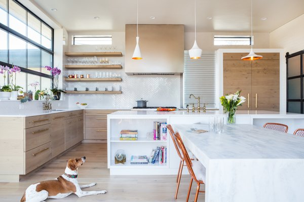 Avenues Residence family enjoying the fun pendant lights Photo-Aaron Shaw Photo 7 of 529 Avenues Residence modern home