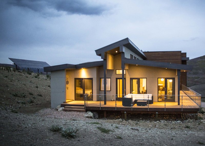Browns Canyon Solar   Browns Canyon Home by Jacoby Architects