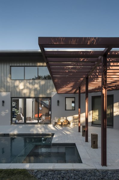 Exterior poolside Photo 2 of 1600 Lakeside modern home