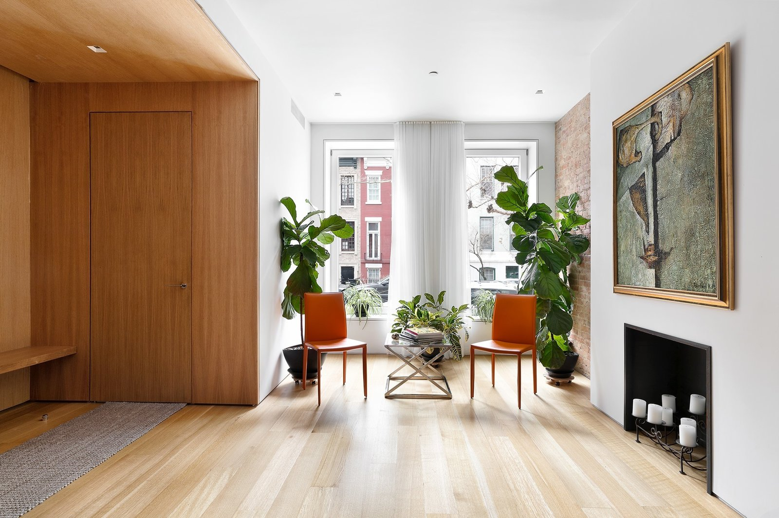 Entrance showcasing the beautiful sunlight  Uptown Loft by Danielle Fuerth