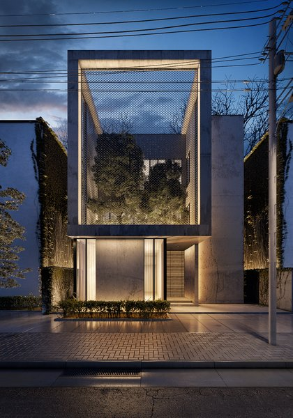 The Al Ali Home Modern Home in Kuwait City, Al Asimah Governate,… on Dwell