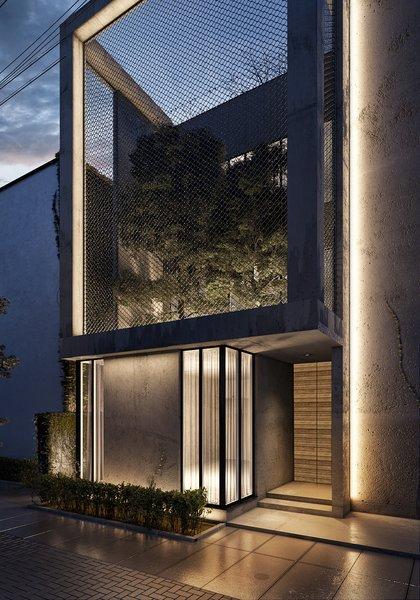 Close Up of Villa Exterior  Photo 2 of The Al Ali Home modern home