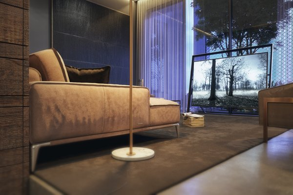 Living Room  Photo 3 of The Al Ali Home modern home