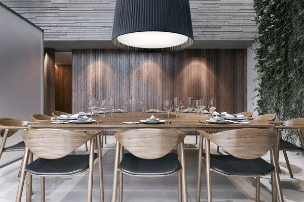 Dining Room  Photo 3 of Monochrome Veil modern home