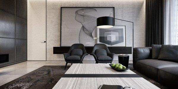 Mezzanine Area  Photo 6 of Monochrome Veil modern home