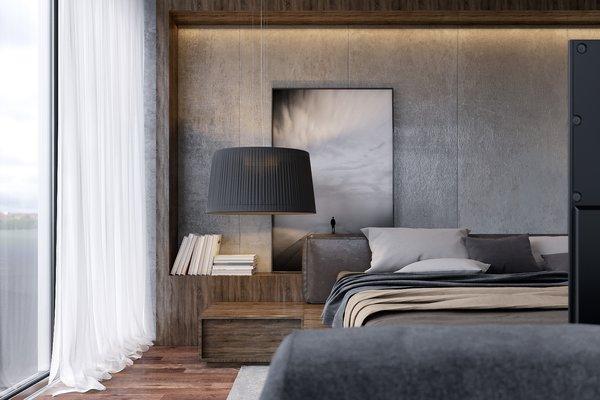 Master Bedroom  Photo 7 of Monochrome Veil modern home