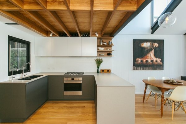 The kitchen Photo 8 of The Narrow House modern home