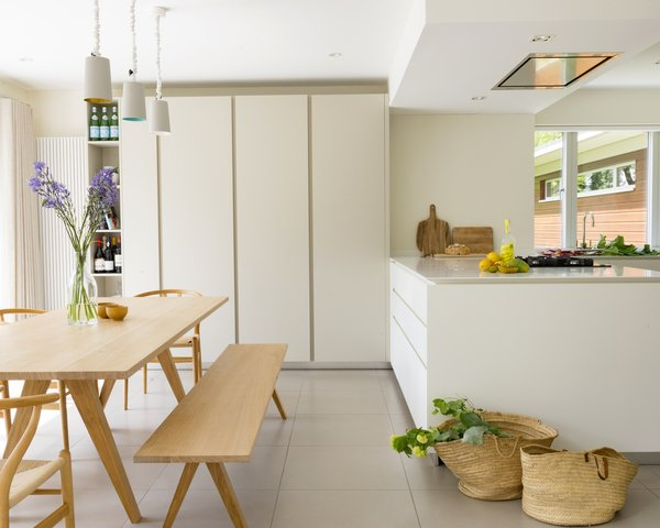 Kitchen and dining area Photo  of Birdham modern home