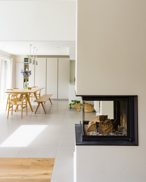 Open plan kitchen and family space Photo 2 of Birdham modern home