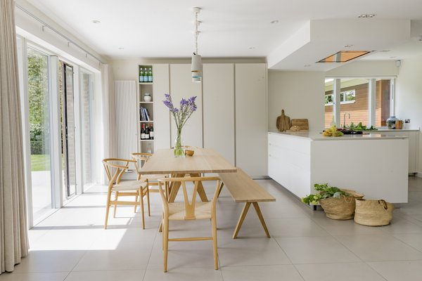 Open plan dining and kitchen area Photo 3 of Birdham modern home