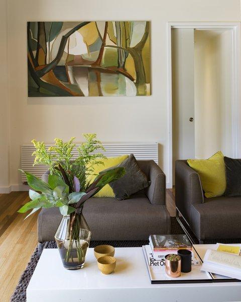 Mid Century reception room Photo 4 of Birdham modern home