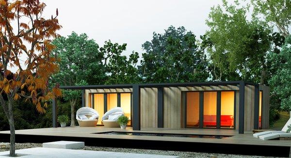 Photo  of 40 modern home