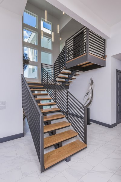 FLOATING STAIRCASE Photo 3 of WONG HOUSE modern home