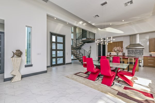 LIVING DINING KITCHEN AREA Photo 6 of WONG HOUSE modern home
