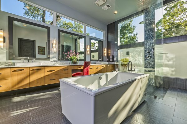 MASTER BATH Photo 7 of WONG HOUSE modern home
