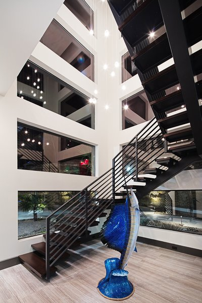 FLOATING STAIRCASE Photo 5 of ALTURA HOUSE modern home