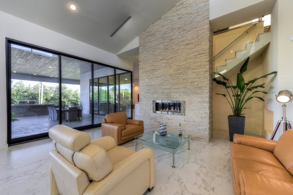 LIVING ROOM Photo 12 of ORVANANOS HOUSE modern home