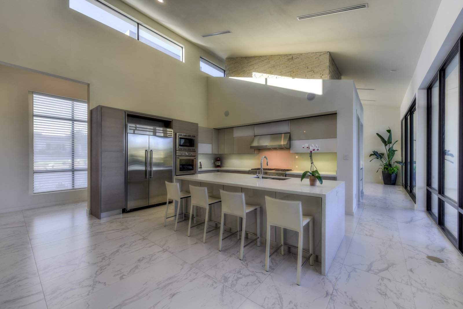 KITCHEN  ORVANANOS HOUSE by OSCAR E FLORES DESIGN STUDIO