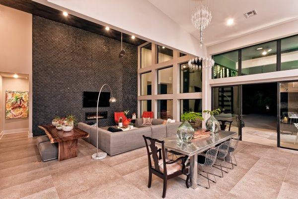 OPEN LIVING BREAKFAST FOYER AREA Photo 16 of BHAKTA HOUSE modern home