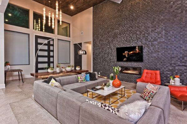 LIVING ROOM - FOYER Photo 17 of BHAKTA HOUSE modern home